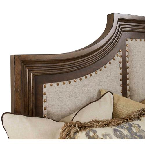 Kingsport Upholstered Panel King Bed