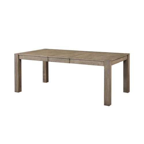 Cambridge Removable Leaf Dining Table, Gray Brown 1126-4278l