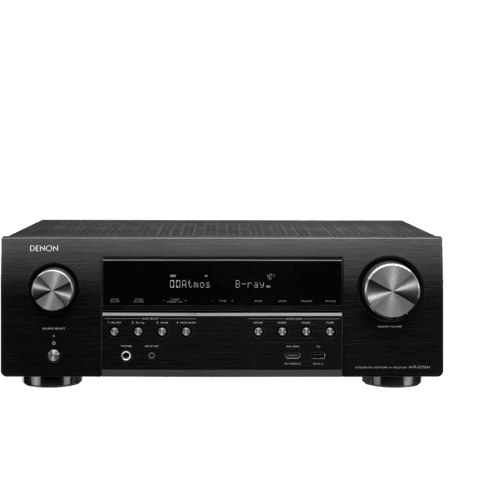 7.2ch 4K AV Receiver with Voice Control Compatibility