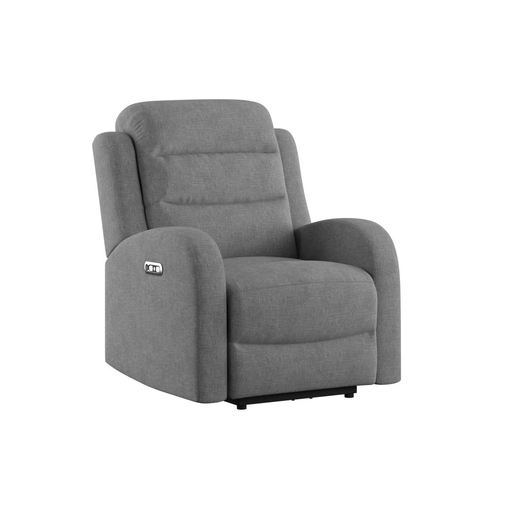 Dual Power Recliner and Headrest