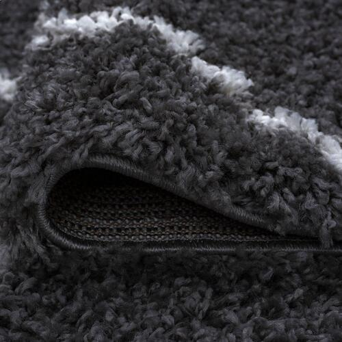 Jersey Shag - JRS1103 Dark Gray Rug