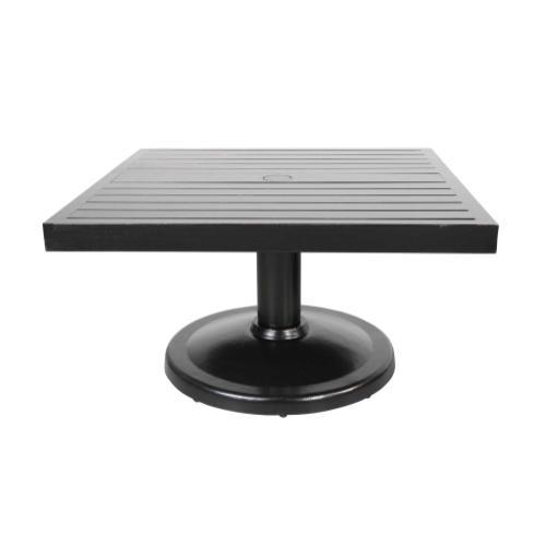 """Monaco 32"""" Square Pedestal Coffee Table"""