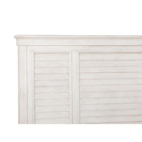 Magnussen Home - Complete Cal.King Shutter Panel Bed
