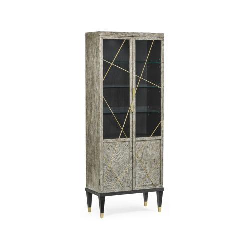 Geometric Display Cabinet