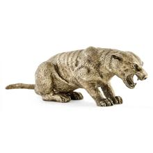 See Details - Antique White Brass Panther