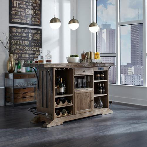 Rustic Publican 9 Drawer Storage Sideboard
