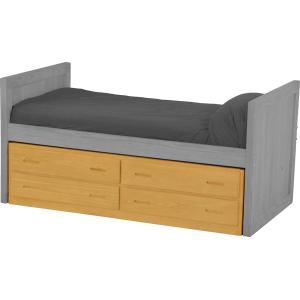 Captain's Bed Drawer Set, Queen