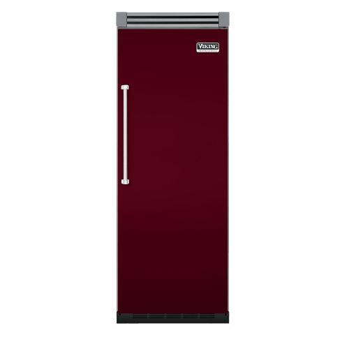 "Viking - Burgundy 30"" Quiet Cool™ All Refrigerator - VIRB Tru-Flush™ (Right Hinge Door)"