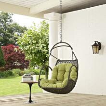 Arbor Outdoor Patio Swing Chair Without Stand in Peridot