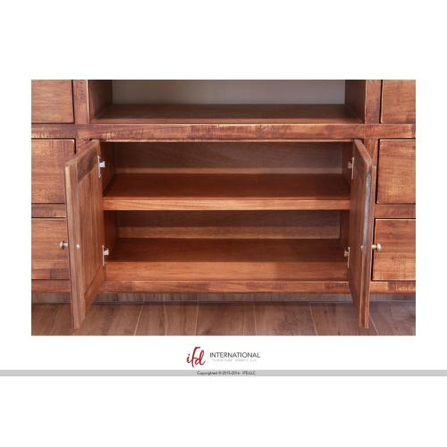 "70"" TV-Stand w/6 Drawers, 2 Wooden Doors - KD System"