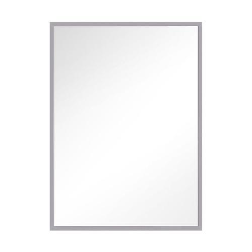 Kit Rectangular Mirror Satin Nickel