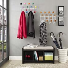 See Details - Gumball Coat Rack in Multicolored