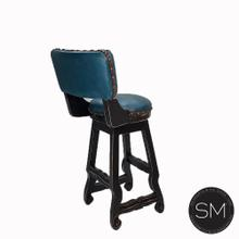 Leather Wooden Barstool 1202 B
