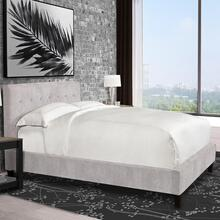 Jody Porcelain (Natural) Upholstered Bed Collection