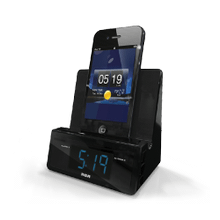 Charging stand alarm clock