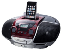 Portable CD Player with dock for iPod/iPhone