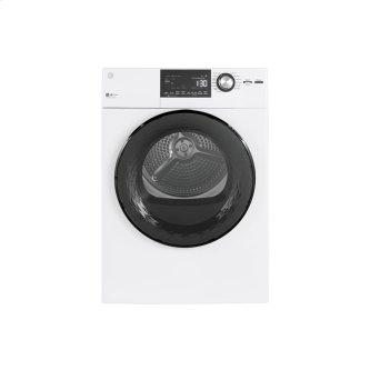 GE 4.1 Cu. Ft. Vented Electric Dryer with Stainless Steel Drum White - GFD14JSINWW