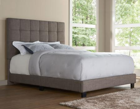 Brooklyn Queen Bed, Nickel