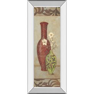 """Red Vase"" By Stephanie Marrott Mirror Framed Print Wall Art"