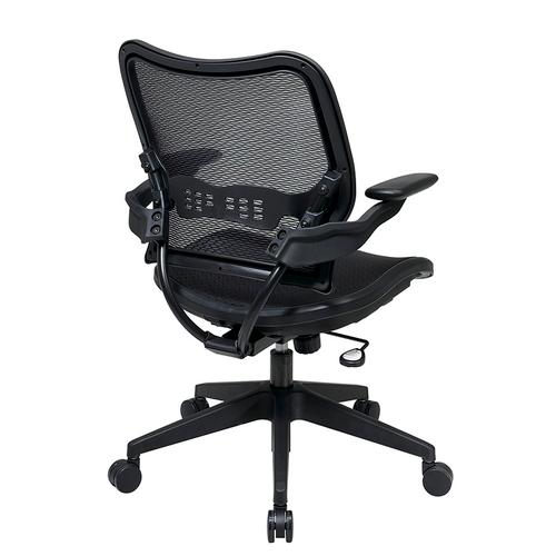 Deluxe Airgrid Seat and Back Chair With Cantilever Arms