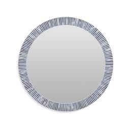Radial Bone Wall Mirror