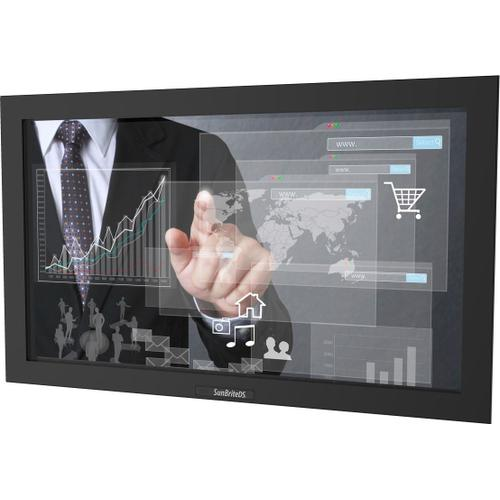 """32"""" Pro Series Outdoor Digital Signage - Full Sun and Active Areas - Touch Screen - Landscape Orientation - DS-3211MTL-BL"""