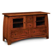 """See Details - Aspen TV Stand with Inlay, 72""""w x 20""""d x 36 """"h"""