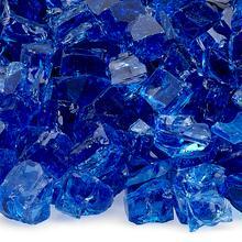 "See Details - 1/2"" Cobalt, 10 Lb. Jar Fire Glass"