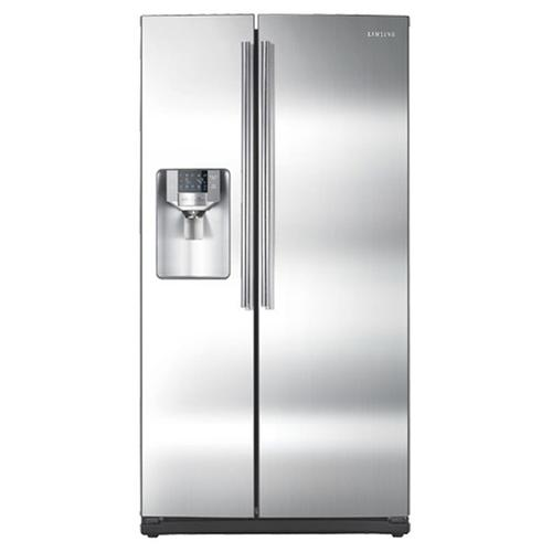 Rs265tdrs In Stainless Steel By Samsung In Port Allen La 26 Cu Ft Side By Side Refrigerator