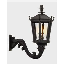 See Details - Gothic Gaslight, Alum Head, for Wall Mount Inst