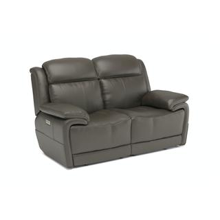 See Details - Elijah Power Reclining Loveseat with Power Headrests and Lumbar