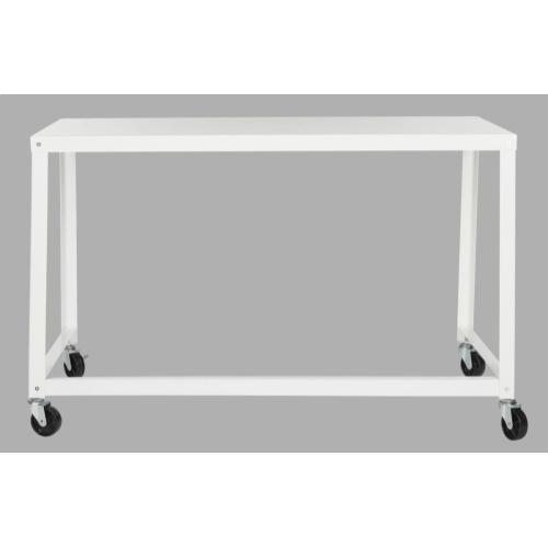 Bentley Industrial Mobile Desk - White