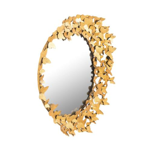 Tov Furniture - Butterfly Gold Mirror