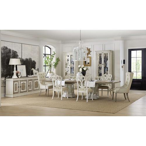 Sanctuary Hostesse Upholstered Chair - 2 per carton/price ea
