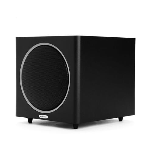 10-inch 200 Watt Compact Powered Subwoofer in Black