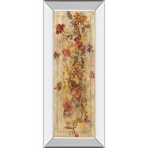 """Fleur Delicate I"" By Georgie Mirror Framed Print Wall Art"