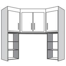 View Product - Top Corner Unit with 4 Doors