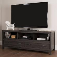TV Stand with Storage - Fits TVs Up to 60'' Wide - Gray Oak