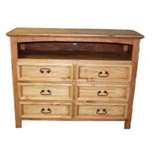 See Details - 6 Drawer Dresser TV Stand