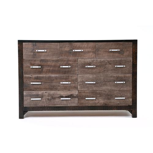 Urban Graphite 9 Drawer Dresser