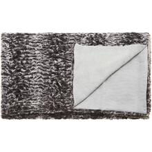 "Fur N9507 Grey 50"" X 70"" Throw Blanket"