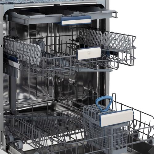"""Zline Kitchen and Bath - 24"""" Top Control Tall Tub Dishwasher in Custom Panel Ready with Stainless Steel Tub and 3rd Rack (DWV-24) [Color: Blue Matte]"""