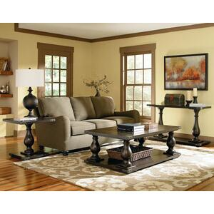 Standard Furniture - Pierwood End Table, Brown