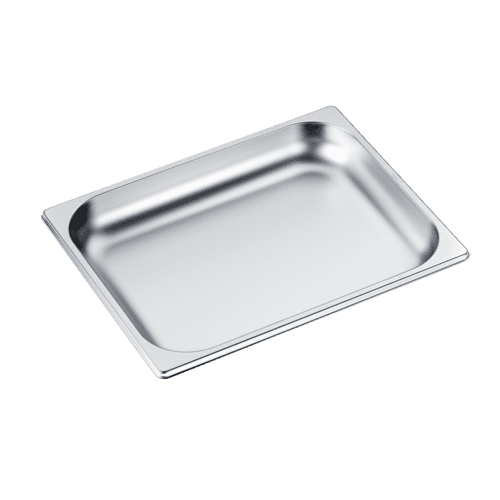 Miele - DGG 15 - Unperforated steam oven pan for cooking food in gravy, stock, water (e.g. rice, pasta).