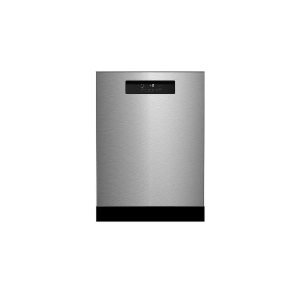 NEW! 24in Dishwasher SS w/ 3rd rack, integrated handle 45dBA front control 8 cycle, active vent drying