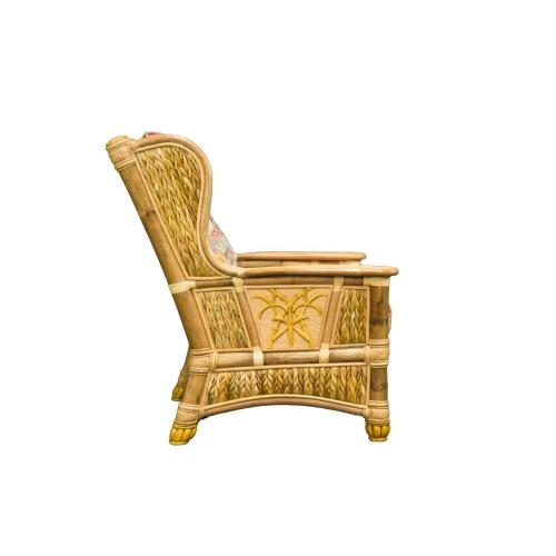 Occassional Chair, Available in Natural Finish Only.