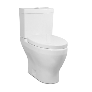 White CADENCE II Two-Piece Toilet, Dual-Flush Product Image