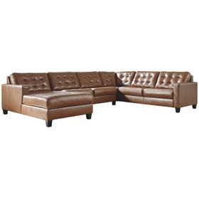 See Details - Baskove 4-piece Sectional With Chaise