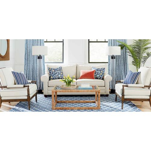 Bassett Furniture - Alexander Roll Arm Sofa