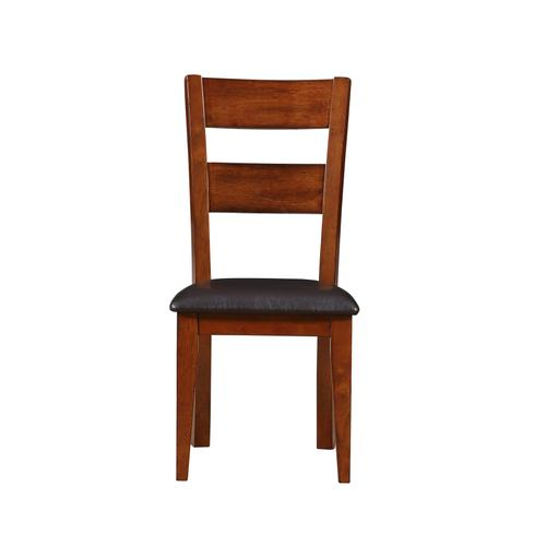 Fairwood Upholstered Seat Dining Chair, Rustic Brown 1279-321-s
